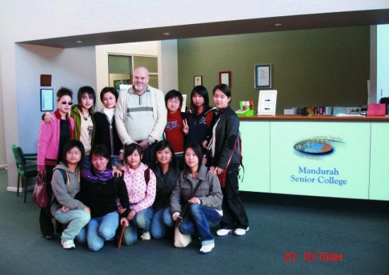 高中学生赴澳大利亚学习交流