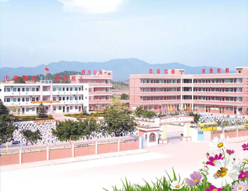 学校全景实拍图