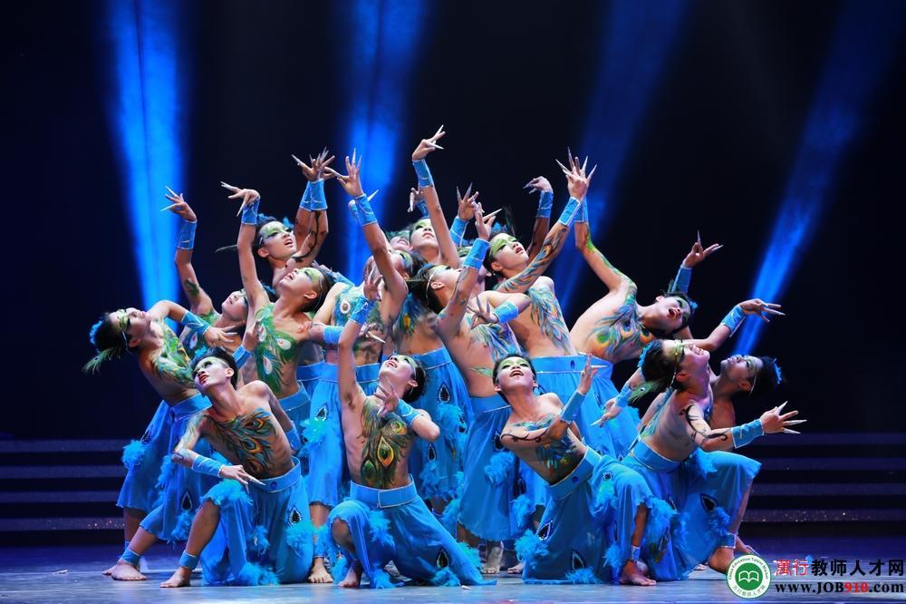 校舞蹈《孔雀部落》获2014浙江省艺术节一等奖